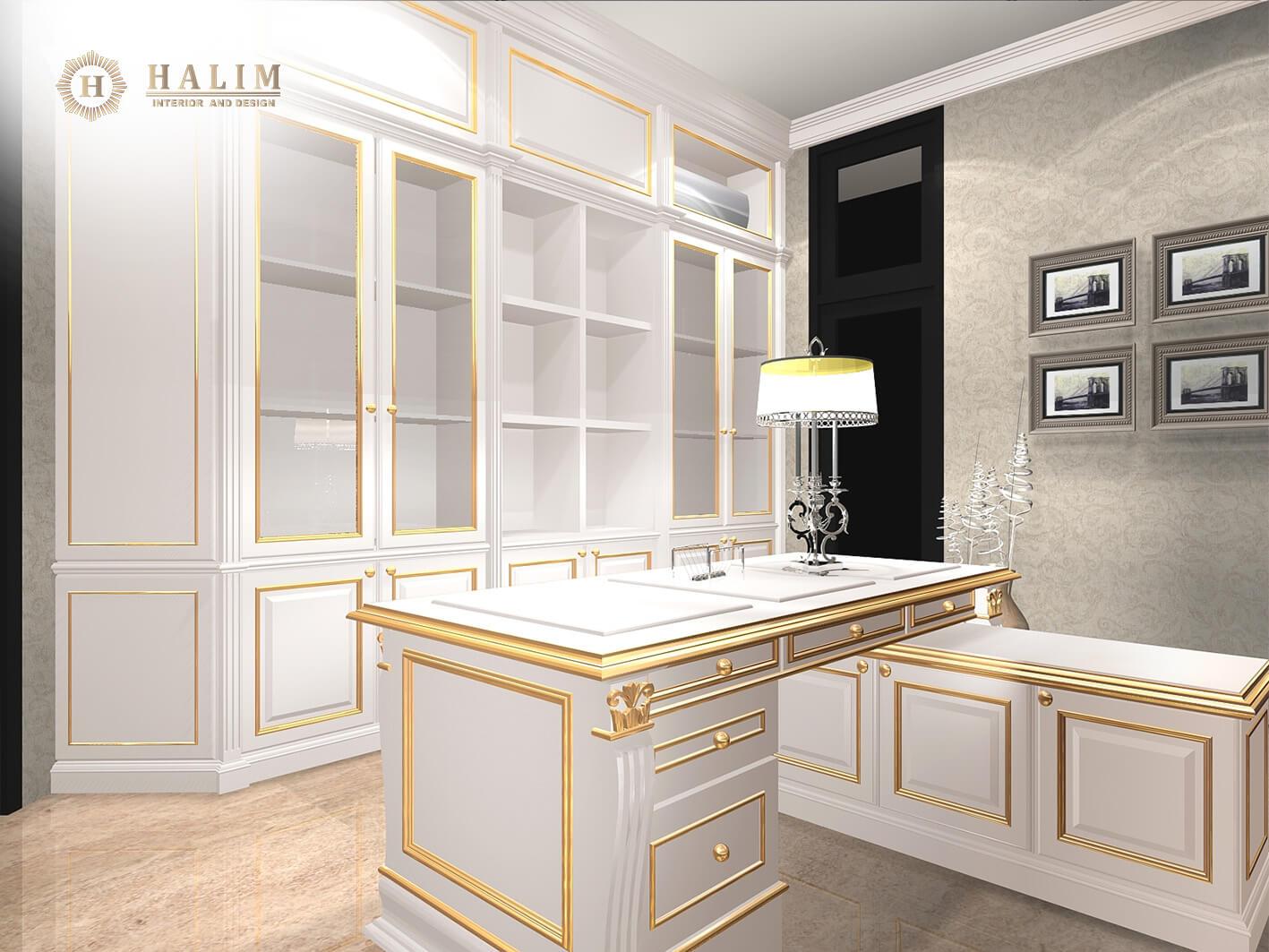Halim Interior Modern Furniture Contemporer American Style Minimalist