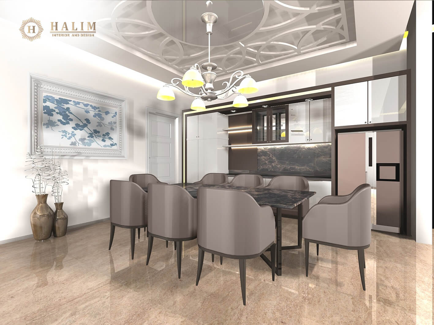 Halim, Interior, modern, furniture, contemporer american style, minimalist, european, classic, surabaya, 3.pantry komplit